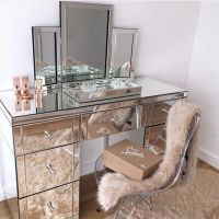 25+ Best Ideas about Mirrored Vanity on Pinterest ...
