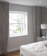 Ceiling to Floor Wall to Wall Curtains | Guest bedroom ...