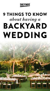 25+ best ideas about Small Backyard Weddings on Pinterest ...