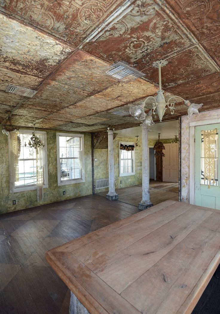 47 best rustic ceilings images on Pinterest