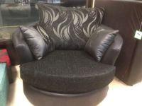 Cuddle-chair-Love-seat-cuddler-chair-swivel-chair-snuggle ...