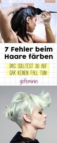 Die 25+ besten Ideen zu Haare Selber Frben auf Pinterest ...