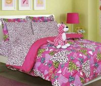 Girls Twin Comforter Set Bedding Minto Pink Bed in a Bag ...