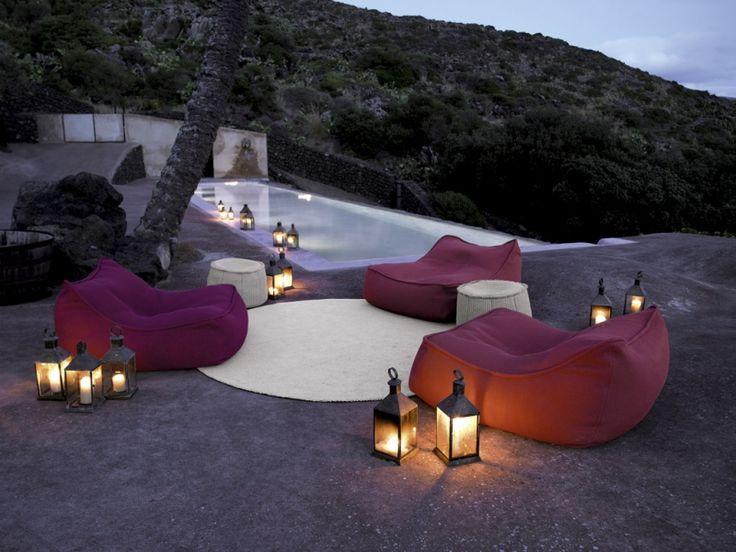 Perfekt Lounge Möbel Im Garten   Sitzsäcke Von Paola Lenti Board U003c 32   Lounge  Gartenmobel