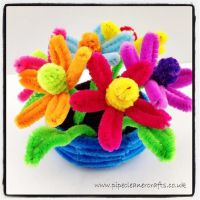 25+ best ideas about Pipe cleaner flowers on Pinterest ...