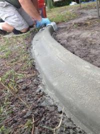 Best 20+ Concrete edging ideas on Pinterest   Concrete ...