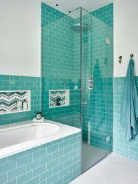 Best 20+ Turquoise bathroom ideas on Pinterest   Chevron ...