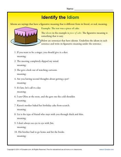 198 best images about Teaching Idioms on Pinterest