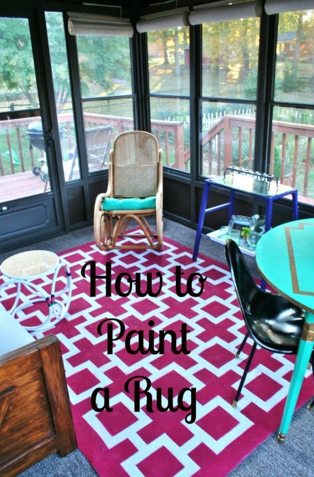 1000+ Ideas About Paint A Rug On Pinterest | Paint Rug, Painting
