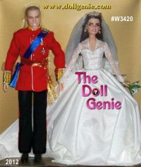 This Barbie and Ken as Prince William and Catherine ...