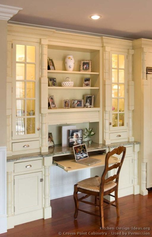 58 Best Images About Kitchen Desks On Pinterest Built In