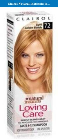 17 Best ideas about Clairol Natural Instincts on Pinterest ...