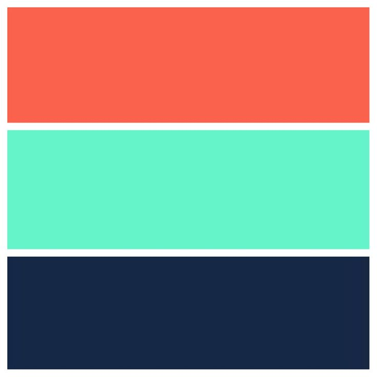 What Color Goes With Teal Teal, Navy, And Coral Color Scheme | For The Home