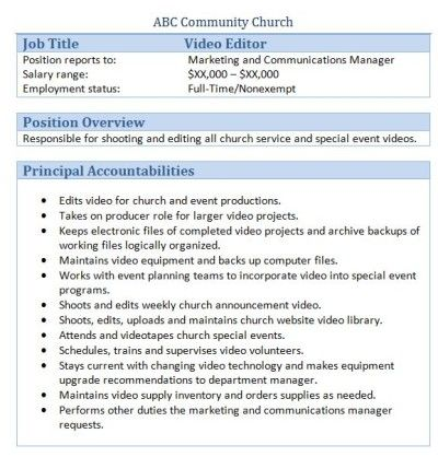 executive editor job description legal executive assistant job church administrator cover letter - Church Administrator Salary