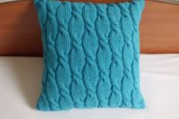 25+ best ideas about Knitted pillows on Pinterest | Knit ...