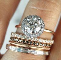 17 Best ideas about Modern Wedding Rings on Pinterest ...