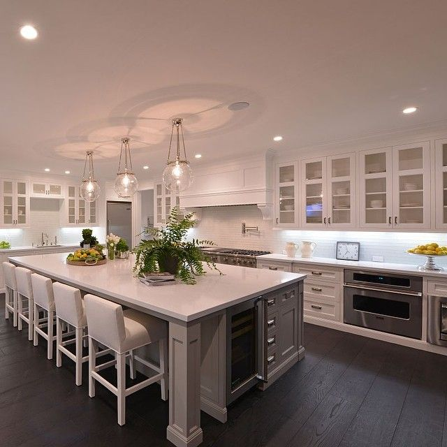 Big Kitchen Island Ideas Photo Taken By @partnerstrust On Instagram, Pinned Via The
