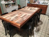 15 Must-see Pallet Dining Tables Pins | Tall bar tables ...
