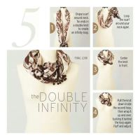 1000+ images about Scarf Knot Tying Tutorials on Pinterest ...
