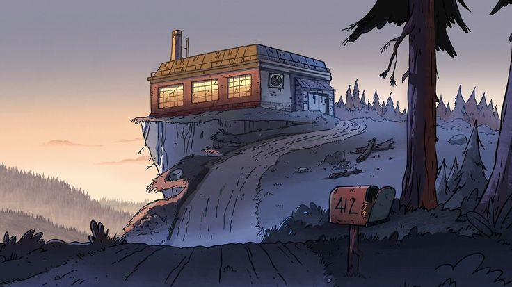 Gravity Falls Mystery Shack Wallpaper Gravity Falls Background Environments And Backgrounds