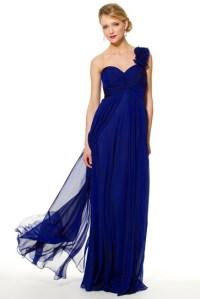 Cobalt Blue Chiffon ~ Sizes 2 to 16 #wedding dress for ...