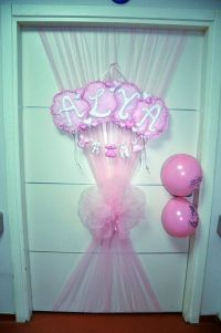baby shower decorations | Newborn, Baby Door Ornament ...