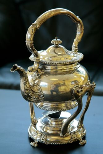 Etagere Ebay Black Starr & Frost Sterling Silver Antique Teapot With