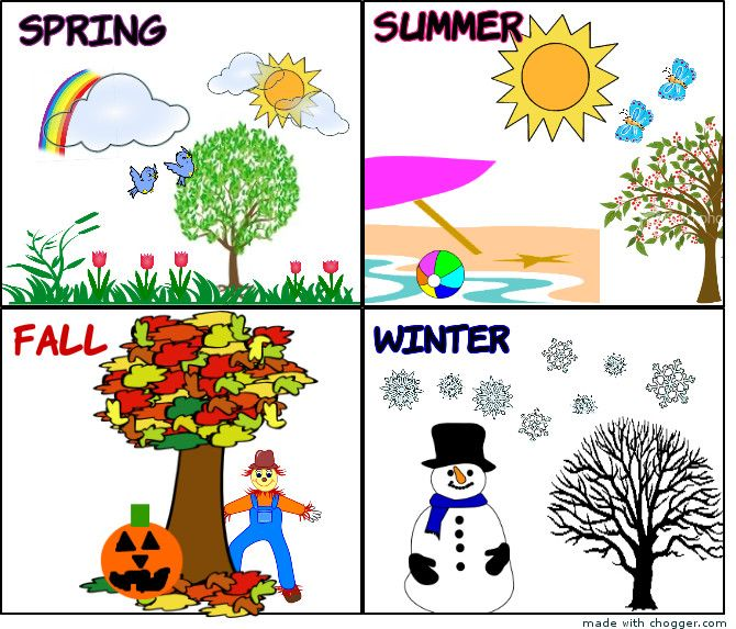 Calendar Creator Clip Art Flowers And Garden Graphics And Clip Art Collection 11 Best Images About Seasons On Pinterest Seasons Space