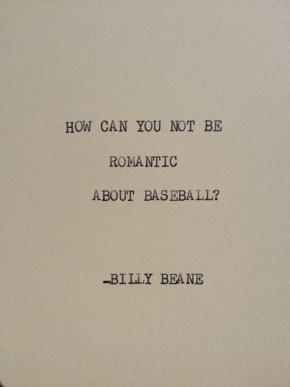 Volleyball Wallpaper Quotes The Billy Beane Typewriter Quote On 5x7 Cardstock By