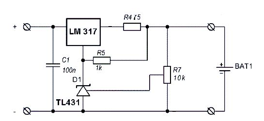 12v battery monitor circuit based on lm3914 electronic circuit