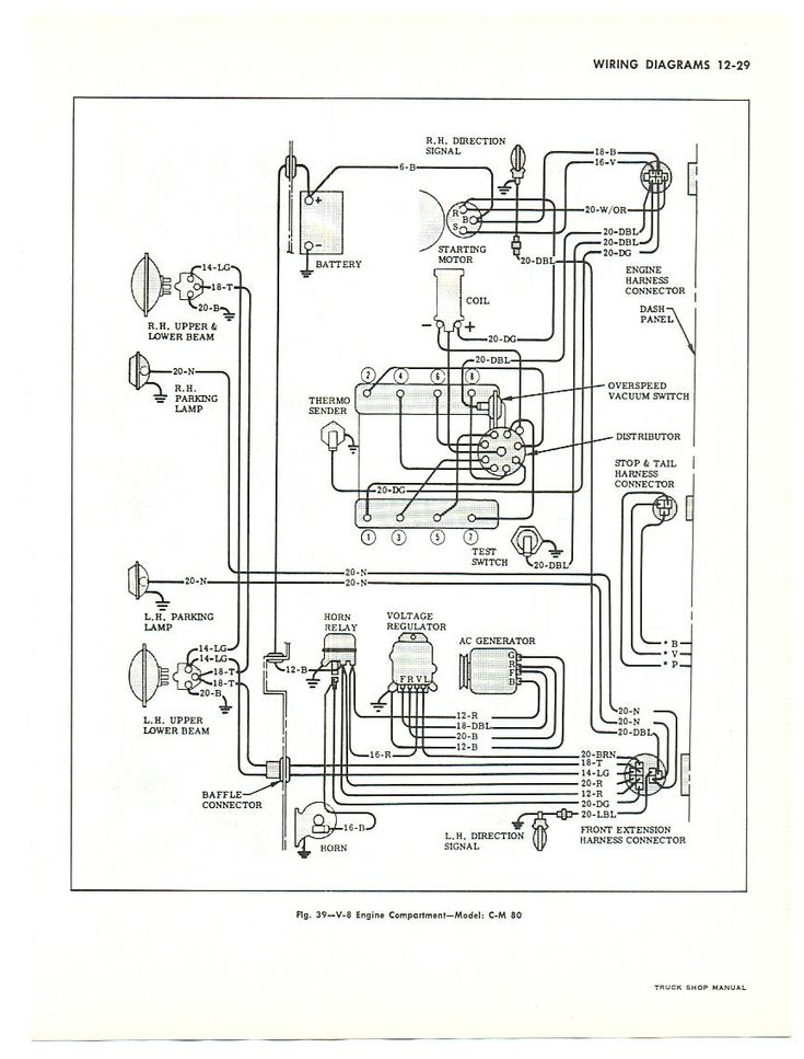 truck headlamp wiring diagram