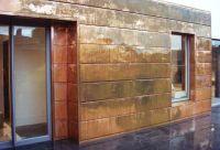 copper walls | Interlocking Panel is a contemporary ...