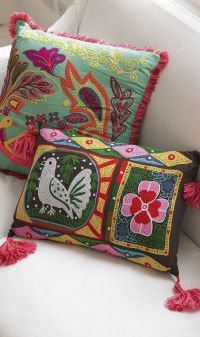 1000+ ideas about Mexican Pillows on Pinterest | Blue ...