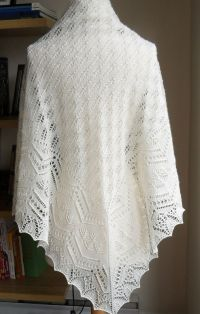 45 best images about knit lace shawls, Shetland on ...