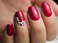 25+ Best Ideas about Red Nail Designs on Pinterest | Red ...