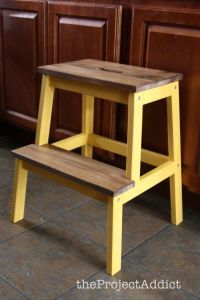 Ikea Step Stool - WoodWorking Projects & Plans