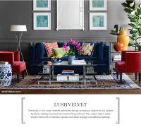 25+ best Navy sofa ideas on Pinterest | Navy couch, Navy ...