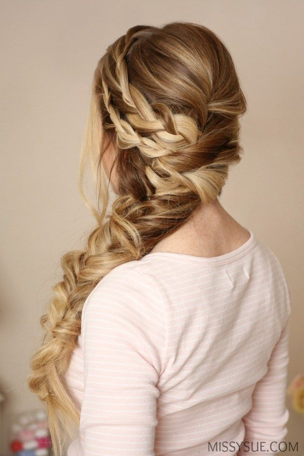 25+ best ideas about Side Braids on Pinterest