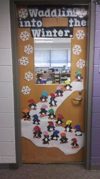 waddle into winter | Bulletin Board Fun | Pinterest ...
