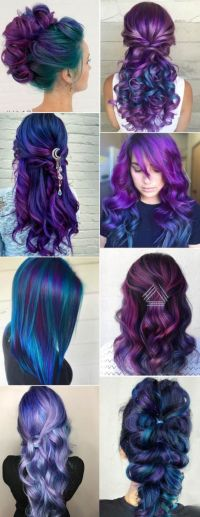 Best 25+ Galaxy hair ideas on Pinterest | Galaxy hair ...