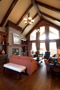 Great Room in Bungalow with vaulted ceiling. | Favorite ...