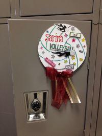 Easy Locker Signs. Volleyball | Decorations | Pinterest ...