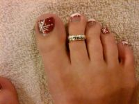 17 Best ideas about Christmas Toes on Pinterest | Pedicure ...