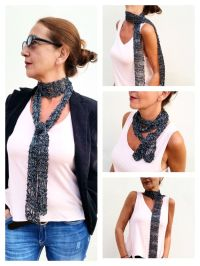 1000+ ideas about Skinny Scarfs on Pinterest | Crochet ...