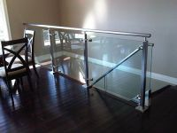 25+ best ideas about Glass stair railing on Pinterest