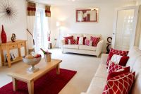 cream and red living room ideas | My Web Value