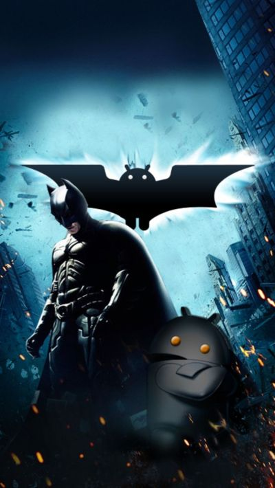 Batman and Android Mobile Wallpaper 3692 | Mobile Background | Pinterest | Wallpapers, Art and ...