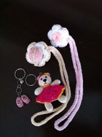 17 Best images about Crochet pacifier holder on Pinterest ...