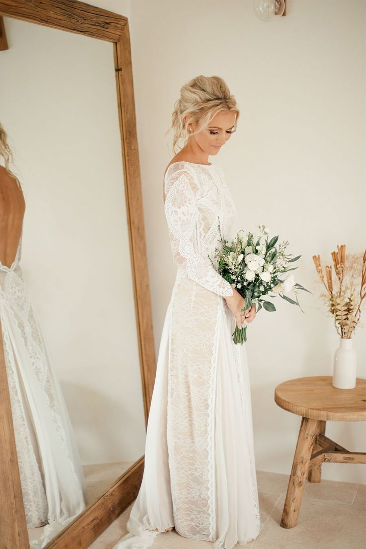 long sleeve wedding christmas wedding dresses 32 Winter Wedding Dresses Perfect For A Cold Day
