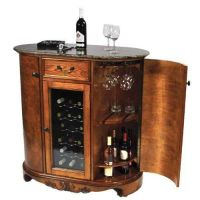 Wine Cooler Wine Bar Cabinet Granite Top by Keller ...
